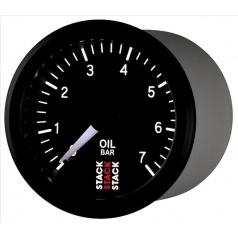 Stack mechanický budík tlak oleje 52 mm ST3101