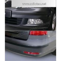 Škoda Octavia II. Facelift Lim., Combi - Ochranné lišty předního a zadního nárazníku