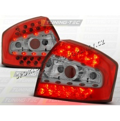 AUDI A4 (B6) SEDAN 2000-04 ZADNÍ LED LAMPY RED WHITE (LDAU33)