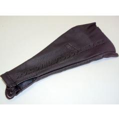 Manžeta řadící páky kožená černá  II