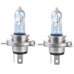 Halogenové žárovky H4 12V 55W LumiTec +130% - 2 ks