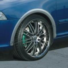 Lemy blatníků, ABS stříbrný matný, Škoda Octavia RS