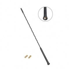 Anténní prut černý průměr závitu 5 a 6 mm