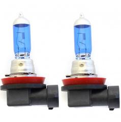 Halogenová žárovka H8 s xenon efektem 5000K 2 ks