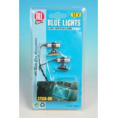 Interiérové světlo modré 12V