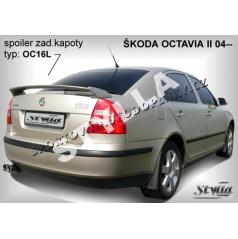 Škoda Octavia II HTB (04+) spoiler zad. kapoty (EU homologace)