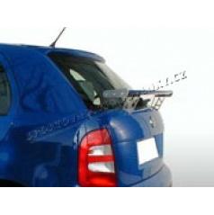 Škoda Fabia zadni křídlo - s otvory v nožkách