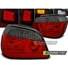 BMW E60 07.2003-07 zadní lampy red smoke LED (LDBM95)