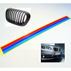 Proužky na přední masku BMW M POWER