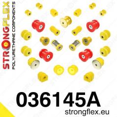 BMW řada 3 (E46) StrongFlex Sport kompletní sestava silentbloků 20 ks