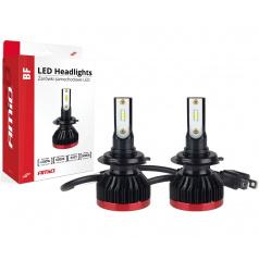 Extra silná led žárovka H7 do hlavních světlometů BF) - cena za 1 kus