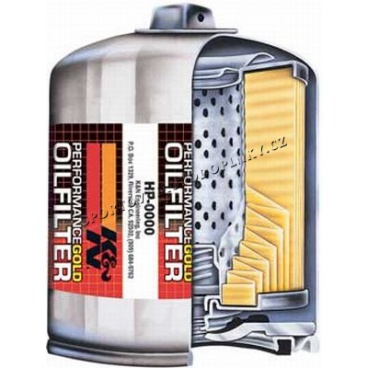 K&N Performance Gold Oil Filters HP-1004