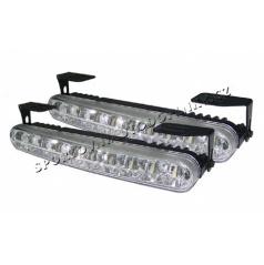 Světla pro denní svícení 2x24 led, šířka/výška 160x25 mm