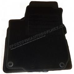 Textilní velurové koberce Premium šité na míru - Dacia Lodgy 7 sedadl., 2012 -