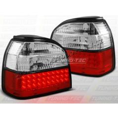 VW GOLF III 1991-97 ZADNÍ LED LAMPY RED WHITE (LDVW35)