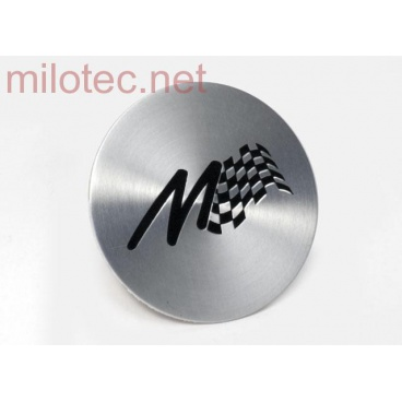 Kryt emblému Alu kola s vypískovaným M-logem 1 ks