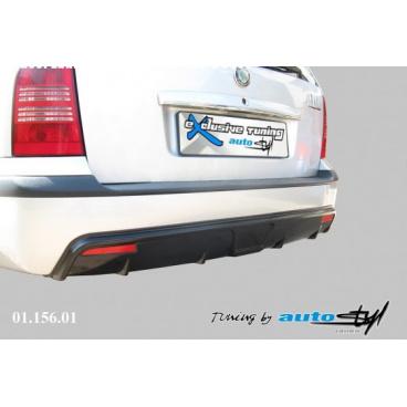 Difuzor zadního nárazníku - černý desén Škoda Octavia I FACELIFT 2001+