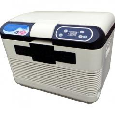Chladící box s funkcí ohřevu bílý 15 litrů 12V/ 220V