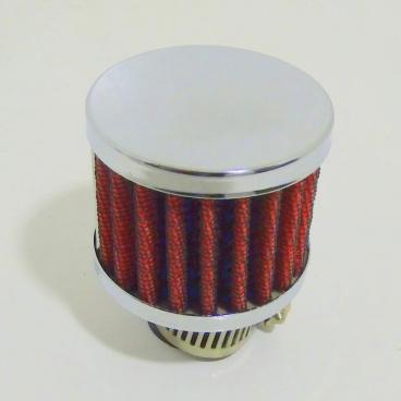 Sportovní oddechový filtr, červený
