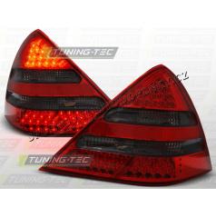 MERCEDES SLK R170 ZADNÍ LED LAMPY RED SMOKE (LDME03)