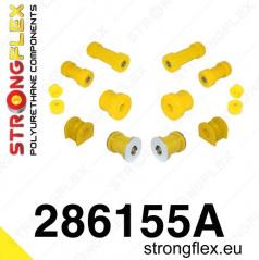Infinity G20 1998-02 StrongFlex Sport sestava silentbloků jen pro přední nápravu 11 ks