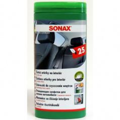 Utěrky na interiér Sonax 25ks