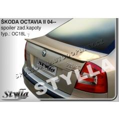 ŠKODA OCTAVIA II htb 04+ spoiler zad. kapoty (EU homologace)