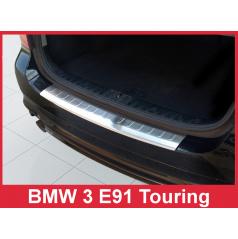 Nerez kryt- ochrana prahu zadního nárazníku BMW 3 E91
