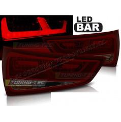 Audi A1 2010- zadné lampy red smoke LED BAR (LDAUC9)
