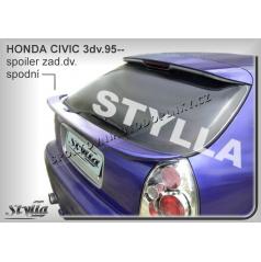 HONDA CIVIC 3D (95-00) spoiler zad. dveří spodní