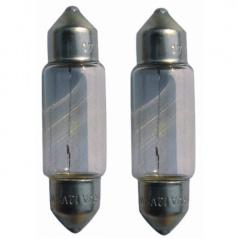Žárovky 12V10W 11x38SV8,5 (38 mm)
