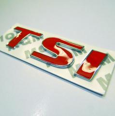 Znak TSI samolepící pro koncernové vozy VW, Škoda, Seat