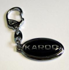 Klíčenka Škoda Karoq oválná