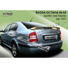 Škoda Octavia I htb 96-04 spoiler zad. kapoty RS I
