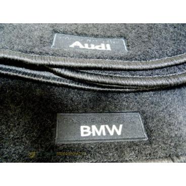 Textilní velurové autokoberce šité na míru - VW Caddy, 2003-