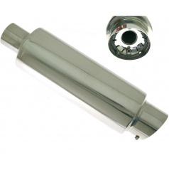 Sportovní výfuk TurboWorks dlouhá kulatá koncovka 90 mm, vstup 60 mm