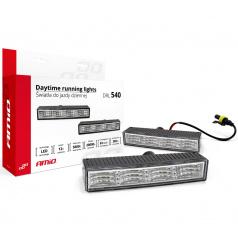 Světla denního svícení DRL540 4x SMD LED 125 x 24 x 47 mm