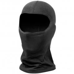 Kukla - maska na obličej černá bavlněná