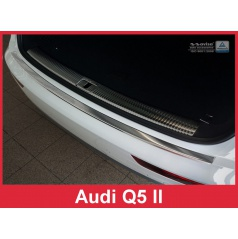 Nerez kryt- ochrana prahu zadního nárazníku Audi Q5 II 2016+