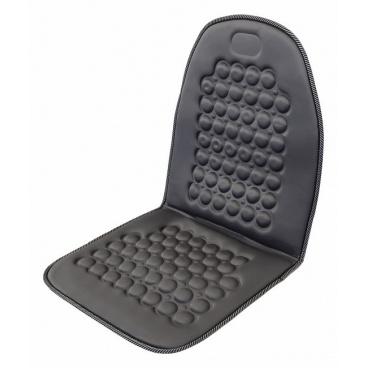 Potah sedadla masážní šedý s magnety