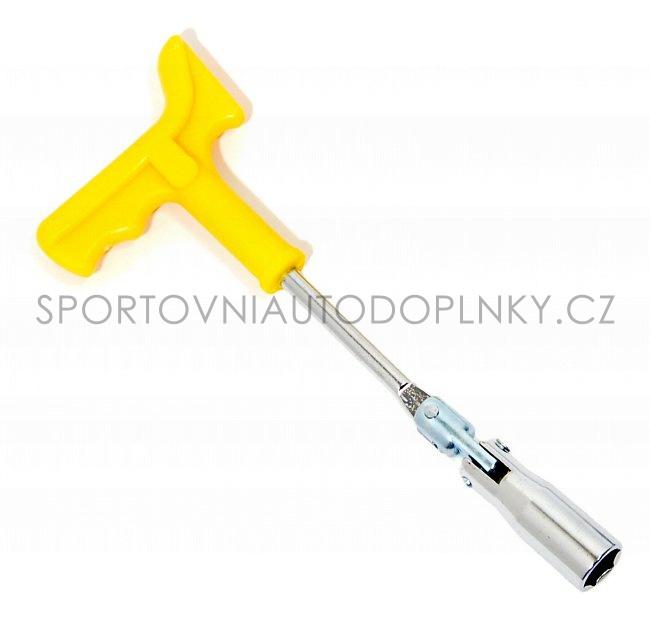 Klíč na svíčky 16 mm ergo
