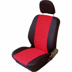 Autopotahy Classic-Škoda Octavia I-dělená zadní sedačka-červené